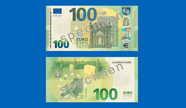 Der neue 100-Euro-Schein