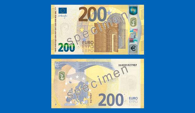 Der neue 200-Euro-Schein