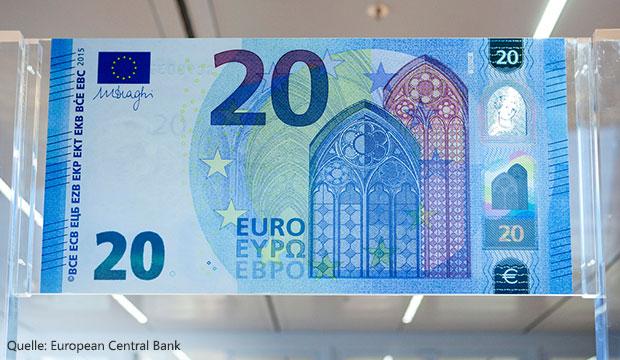 Neuer 20-Euro-Schein